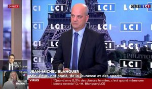 Jean-Michel Blanquer, ministre de l'Education nationale, invité ce mercredi 16 septembre
