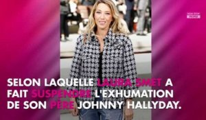 Johnny Hallyday : l'avocat de Laura Smet s'exprime sur la suspension de l'exhumation