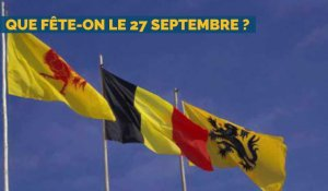 Que fête-t-on le 27 septembre en Belgique ?