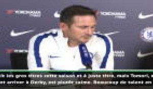 "FOOTBALL: Premier League: 8e j. - Lampard : ""Tomori a une progression naturelle"""