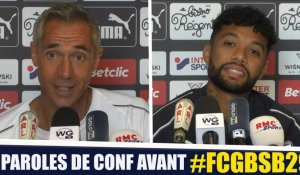 Paroles de conf' avant Bordeaux - Reims
