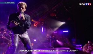 L'envie de faire revivre Johnny Hallyday avec un album et un spectacle