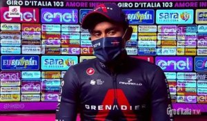 "Tour d'Italie 2020 - Jhonatan Narvaez : ""I worked everyday for this moment"""