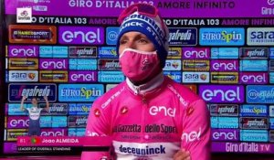 "Tour d'Italie 2020 - Joao Almeida : ""It was very hard, today it was very cold"