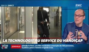 La chronique d'Anthony Morel : La technologie au service du handicap - 16/11