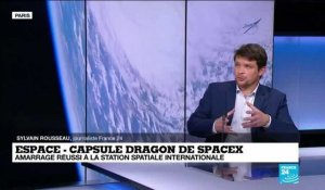 La capsule Dragon de SpaceX s'est arrimée à la Station spatiale internationale