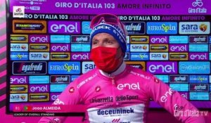 "Tour d'Italie 2020 - Joao Almeida : ""The Maglia Rosa makes me stronger"""