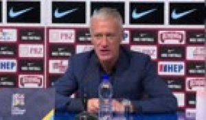 "FOOTBALL: Ligue des Nations - Deschamps : ""Une meilleure animation offensive que contre le Portugal"""
