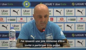 "OM - Sampaoli : ""Se tourner davantage vers le but adverse que vers le nôtre"""