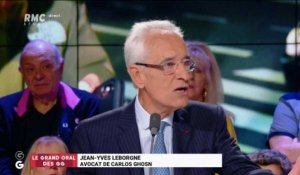 Le Grand Oral de Jean-Yves Le Borgne, avocat de Carlos Ghosn - 25/04