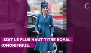 Kate Middleton honorée de la plus haute distinction royale par la reine Elizabeth