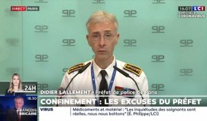 VIDEO - Les excuses de Didier Lallement, préfet de police de Paris