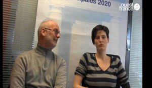 Municipales 2020 à Coutances. l'interview de JM Masson et Héloïse Morel de la liste Alternatives