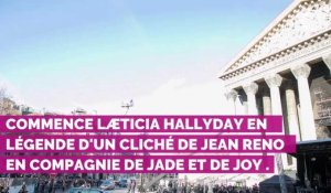 PHOTOS. Le magnifique message de Læticia Hallyday à Jean Reno...