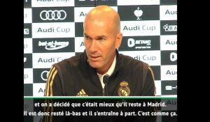 "Real Madrid - Zidane : ""Bale ne se sentait pas bien"""