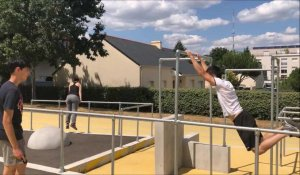 Nantes. Parkour nantais