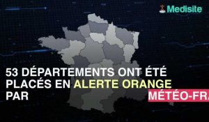 Alerte canicule, 53 départements en alerte orange