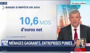 Les ménages, grands gagnants en 2019