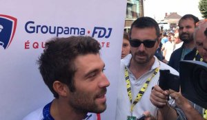 Tour de France étape 3 interview de Thibaut Pinot