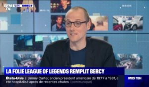 La folie League of Legends remplit Bercy - 12/11