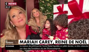 Zapping du 20/12 : Mariah Carey : la jolie surprise de ses enfants