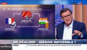 La Chronique éco : Relocaliser, mission impossible ?