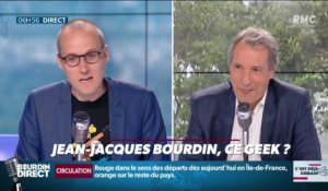 La chronique d'Anthony Morel : Jean-Jacques Bourdin, ce geek ? - 10/07