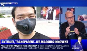 Antibuée, transparents ... les masques de protection se réinventent - 11/06