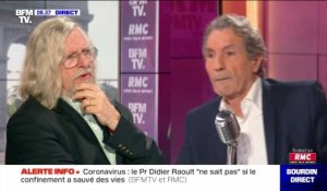 Didier Raoult face à Jean-Jacques Bourdin en direct - 25/06