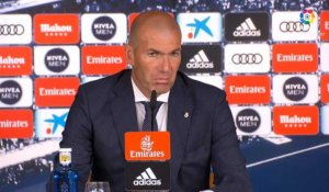 "36e j. - Zidane : ""On a fait un match correct, sans plus"""