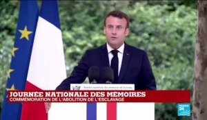 REPLAY - Discours d'Emmanuel Macron à l'occasion de la Journée nationale de l'abolition de l'esclavage