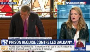 Prison requise contre les Balkany