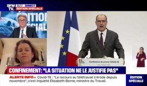 "Confinement: ""la situation ne le justifie pas"" - 04/02"