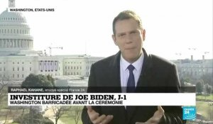 Investiture de Joe Biden à J-1 : Washington barricadée avant la cérémonie