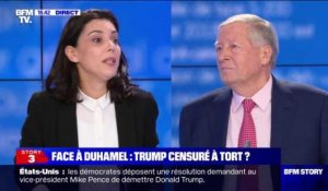 Face à Duhamel: Donald Trump censuré à tort ? - 11/01
