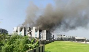 Inde: incendie au fabricant de vaccins Serum Institute of India
