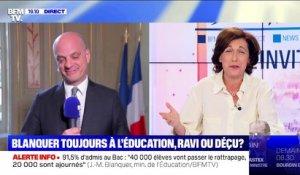 EN DIRECT - Résultats records au Bac: Jean-Michel Blanquer est l'invité de Ruth Elkrief