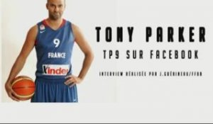 Tony Parker sur Facebook