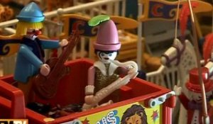 Les playmobils s'exposent à Paris