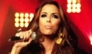 Eva Longoria rappe pour les MTV Europe Music Awards
