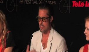Brad Pitt au Festival de Cannes 2011 (The Tree of Life)