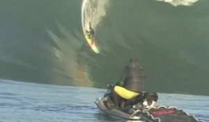 Ken Collins at Mavericks - Ride of the Year entry in the Billabong XXL Awards 2012