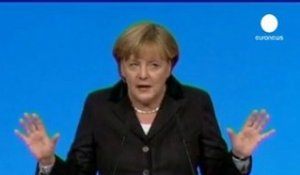 Angela Merkel plaide pour plus d'Europe