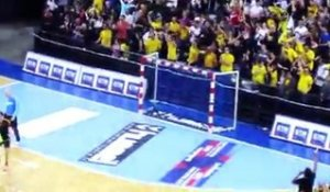 Fin de match Chambéry vs Cesson - 31/03/2011