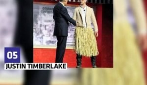Top Fashion : Justin Timberlake se déguise