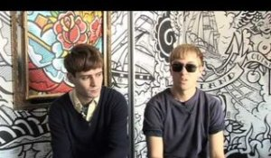 Interview The Drums - Jonathan Pierce and Jacob Graham