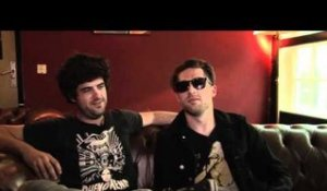 Mini Mansions interview - Michael Shuman and Tyler Parkford (part 1)