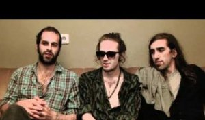 Crystal Fighters interview - Sebastian Pringle, Gilbert Vierich, and Graham Dickson (part 1)