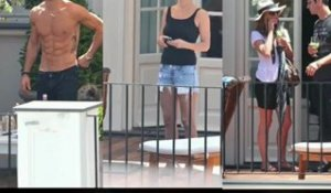 Jennifer Aniston et Justin Theroux en vacances