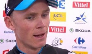 Tour de France 2012 - Interview Chris Froome